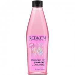 Redken Diamond Oil Glow Dry Champú 300ml