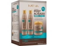 Kativa Kit Post Alisado 250ml + 250ml + 250ml